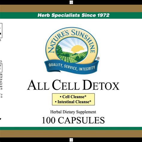 All Cell Detox Benefits by All Cell Detox Special Formula 1 Herb Specialists