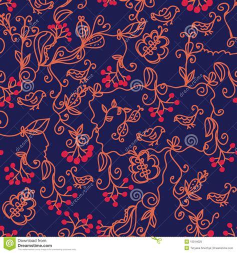 seamless pattern dark dark floral seamless pattern stock vector image 15014025