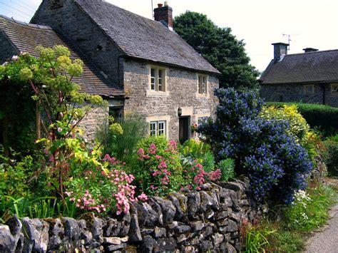 cottage garden in tissington derbyshire flickr photo