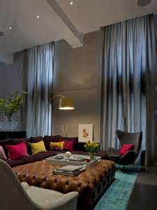 High Ceiling Curtains Best High Ceiling Curtain Design Ideas Amp Remodel Pictures