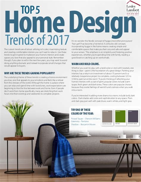 upcoming home design trends top 5 home design trends of 2017 in western ma and beyond