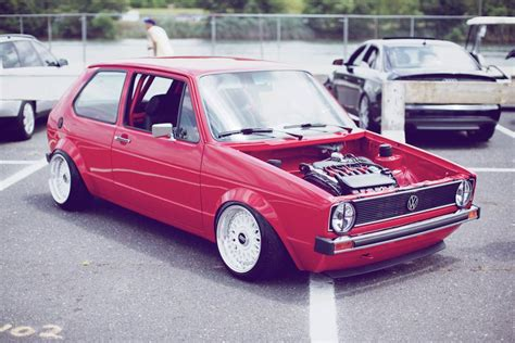 volkswagen rabbit stanced slammed mk1 vw rabbit pixshark com images