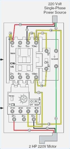 single phase magnetic contactor wiring diagram phase free