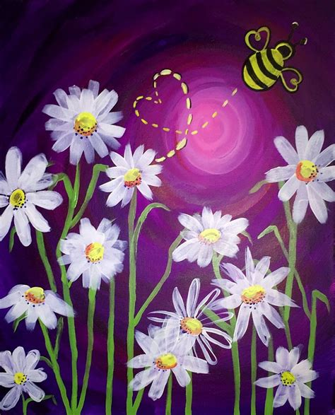 easy acrylic painting ideas flowers 10 best ideas about painting on