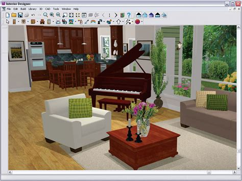 easiest interior design software chief architect interior designer 9 0 version software
