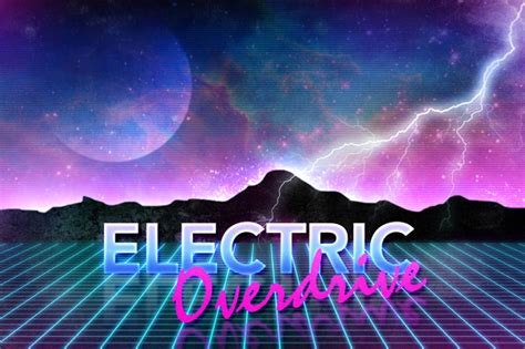 Car Wallpaper Photoshop Shirt Tutorial by How To Create 80s Style Retro Futuristic Neon Artwork