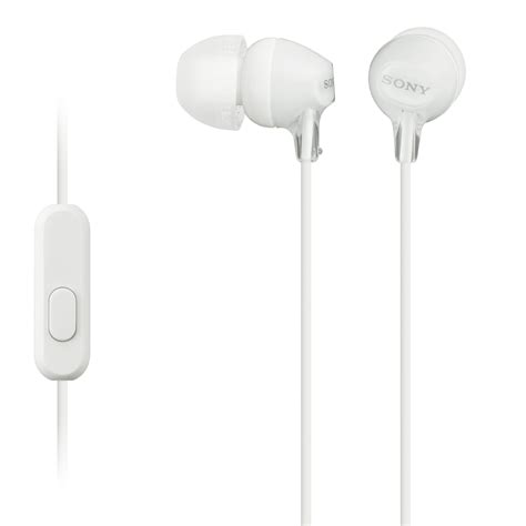 Earphone Garansi Resmi Sony Mdr Ex15ap sony mdr ex15ap ex monitor headphones white mdrex15ap w b h