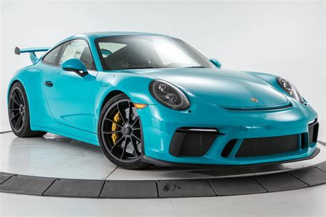 miami blue porsche miami blue 2018 911 gt3 is the driver s porsche