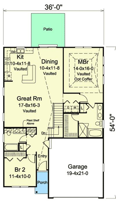 vacation cottage floor plans vacation cottage 57310ha architectural designs house