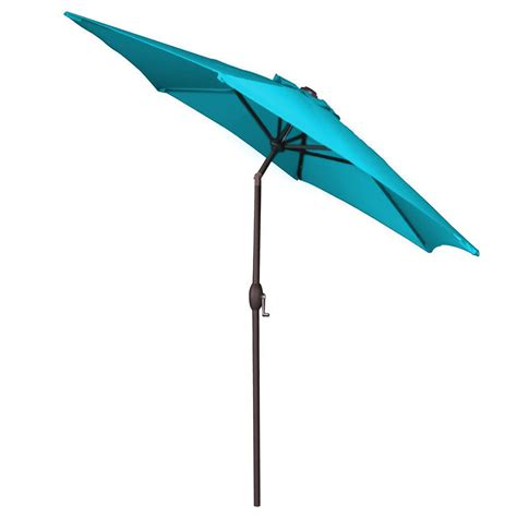 Teal Patio Umbrella Panama Teal 9 Ft Aluminum Patio Umbrella W Crank Pjo 6001 Teal Betterpatio