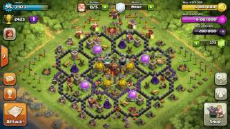 Clash of lords defense town hall level 5