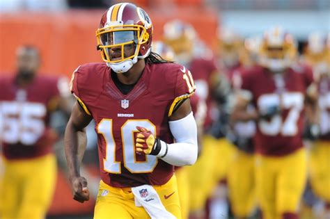 2015 robert griffin iii washington redskins browns lead redskins at halftime 14 13