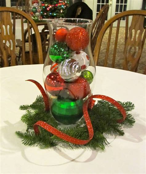 exciting christmas table arrangements ideas with red and