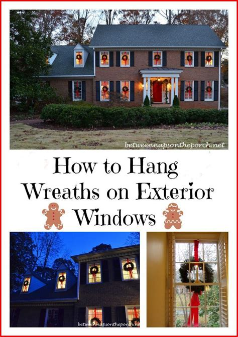 how to hang christmas lights outside 1893 best christmas images on pinterest christmas deco