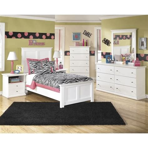bostwick shoals bedroom set ashley bostwick shoals 6 piece wood twin panel bedroom set