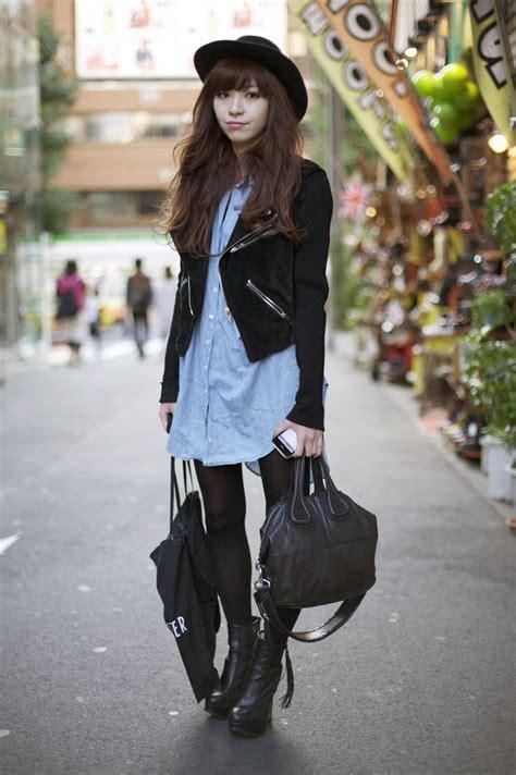Jp Black maruya saeko tokyo fashion peeper