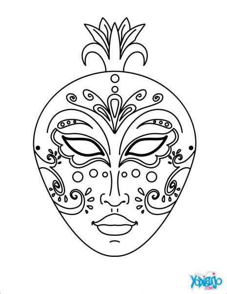 venetian masks coloring book for adults venecia jpg2 circo masking coloring
