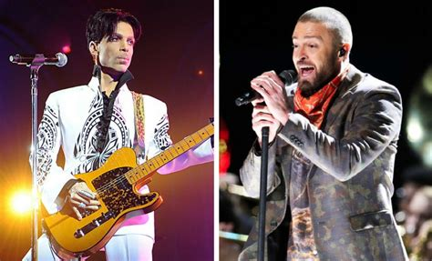 Laurent Shows Timberlake Influence by Justin Timberlake Pays Tribute To Prince At Superbowl