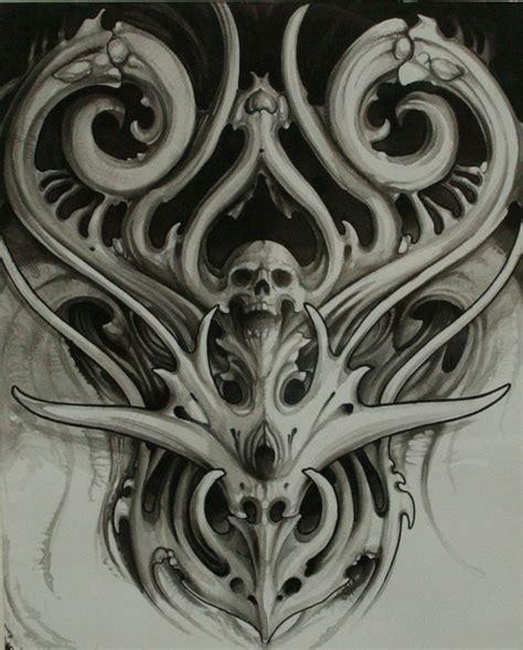 design tattoo biomechanical warna biomechanical by chrisreedtattoo deviantart com on