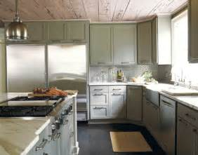 Gray Green Kitchen Cabinets Candice S Decorating Tips Bossy Color Elliott Interior Design