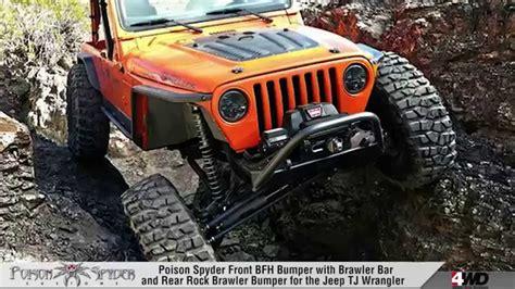 Poison Spyder Jeep Bfh Front Bumper Poison Spyder Jeep Bumpers