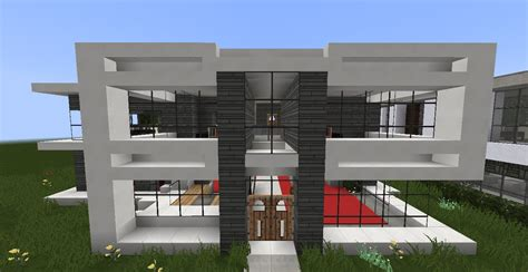 minecraft house modern designs minecraft modern house designs 3 youtube