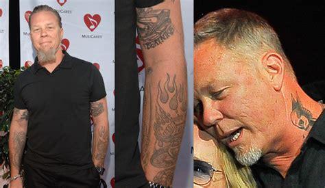 EGO - Lollapalooza 2017: espie as tatuagens dos artistas ... James Hetfield Tattoos 2017