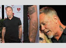 EGO - Lollapalooza 2017: espie as tatuagens dos artistas ... James Hetfield Tattoos 2017
