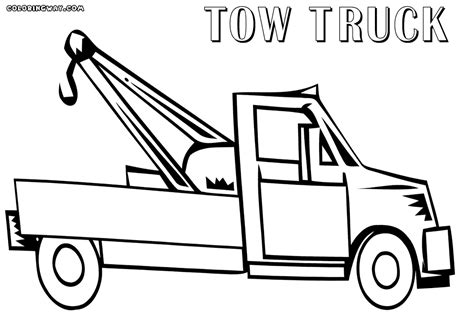 coloring page crane truck truck coloring pages coloring pages to download and print