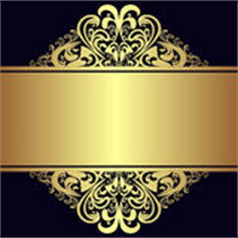 navy blue background decorated the golden royal border royalty free luxury black background with golden royal borders stock