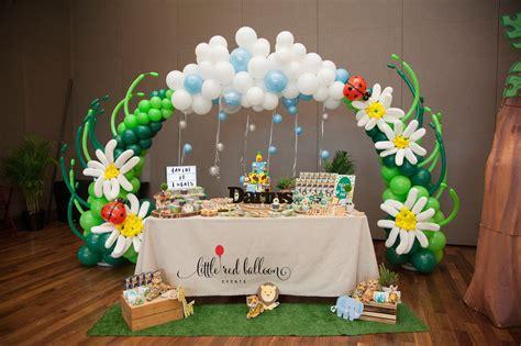 Baby Shower Safari Cake by Little Red Balloon Safari Balloon Decoration Little