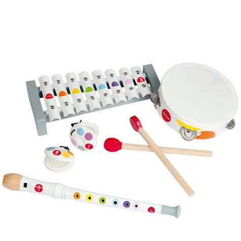 musical set jeu musical pour enfant set musical janod 174 la fl 251 te