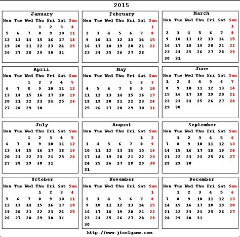 Calendar Print Out 2015 Small 2015 Calendar To Print Out Myideasbedroom