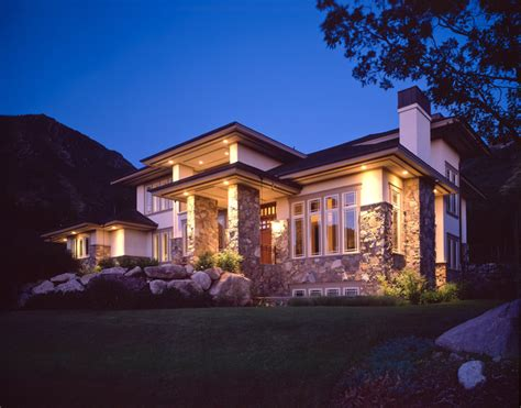 modern prairie style homes prairie style residence contemporary exterior salt lake city by highland