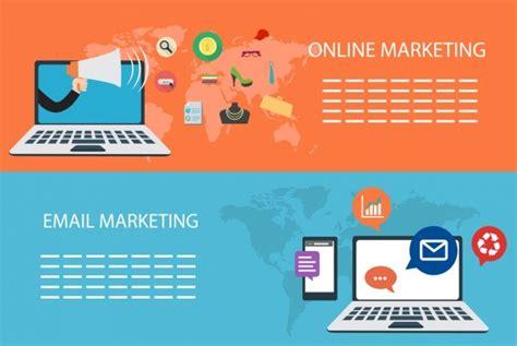 design banner computer digital marketing banners computer icon horizontal design