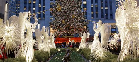 the rockefeller center tree lighting is just weeks away