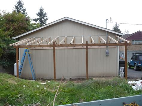 Attached Carport Designs by Attached Carport Kits Patio Cover Kit How To Add A