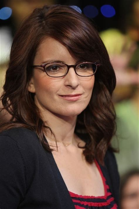 what type of hair does tina fey have celebrity spectacles the hottest lenses in hollywood