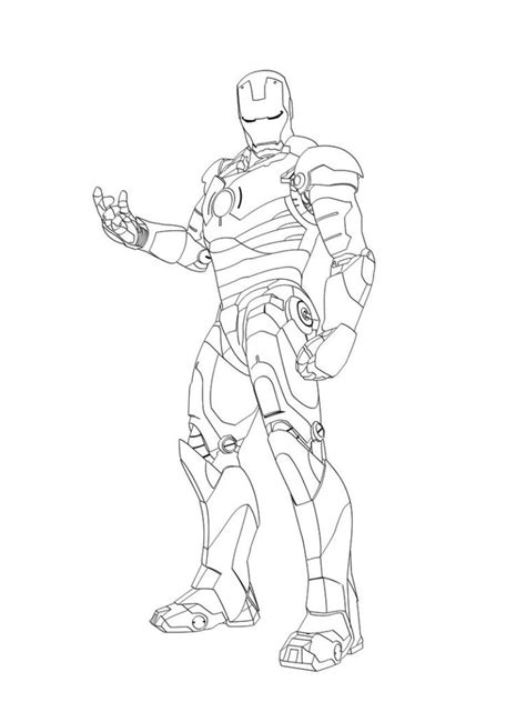 10 Best Images About Colouring Iron Man En Pinterest Iron Coloring Pages 42
