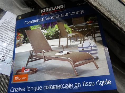 costco chaise costco chaise lounge costco commercial sling chaise