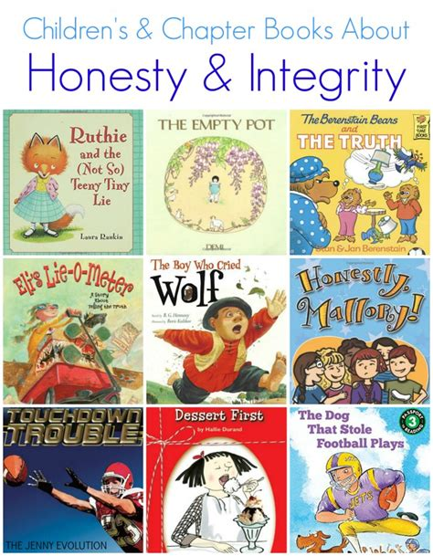 picture chapter books children s books about honesty integrity the