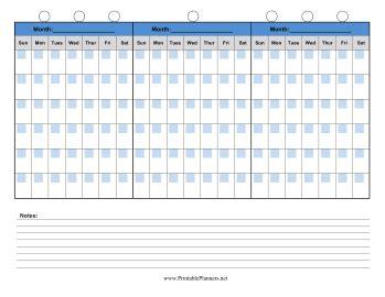 90 day calendar printable 2015 calendar template 2016