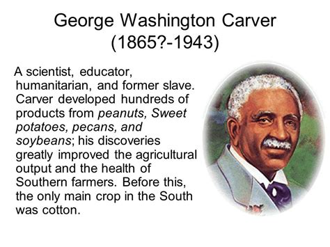 george washington carver biography inventions george washington carver quotes about science quotesgram