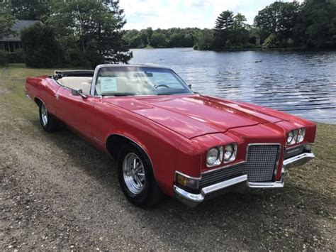1971 Pontiac Grandville For Sale 1971 Pontiac Grandville Big Block Convertible 1 Of