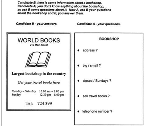 preguntas ket speaking resultado de imagen de ket speaking test esl