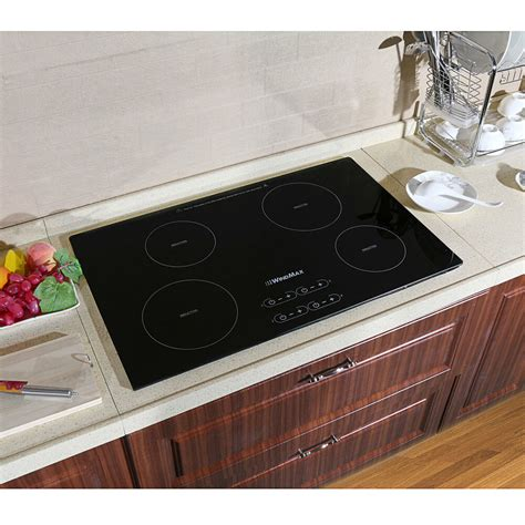 induction cooktop glass replacement 31 5inch induction hob 4 burner ih cooktops black glass