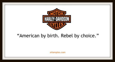 Harley Davidson Motto by 109 Company Taglines And Slogans And How To Make