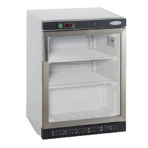 Glass Door Fridge Freezer Tefcold Uf200 Glass Door Freezer Inter Fridge