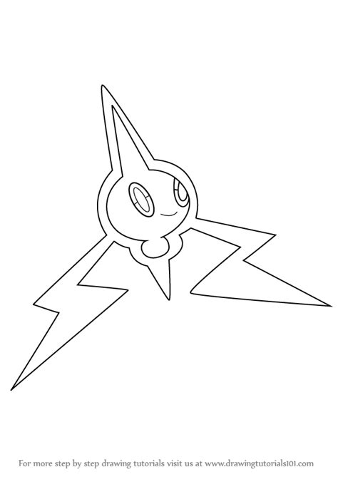 pokemon coloring pages rotom learn how to draw rotom from pokemon pokemon step by