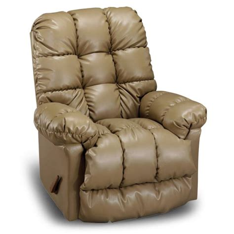 Rocker Recliners With Heat And by Brosmer Heat And Rocker Recliner In Polyurethane